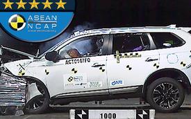 Mitsubishi Outlander lắp ráp ở Việt Nam được chọn đi thử nghiệm an toàn ASEAN NCAP