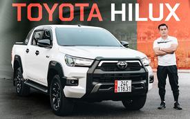 9X Lào Cai đánh giá Toyota Hilux 2020: Bán tải không còn là nửa xe tải