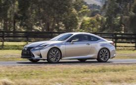 Lexus RC cập nhật phiên bản mới - 'Xe chơi' điệu đà đối đầu BMW 4-Series Coupe và Mercedes C-Class Coupe