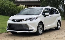 Toyota Sienna 2021 về Việt Nam: Xe gia đình sang chảnh dáng như SUV, giá gần 4,5 tỷ đồng ngang ngửa Lexus RX 350