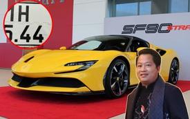 Hoàng Kim Khánh tiết lộ biển số siêu xe mới, khả năng là 'siêu phẩm' Ferrari SF90 Stradale siêu độc tại Việt Nam