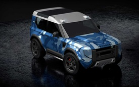 Land Rover Baby Defender ra mắt vào 2022 với giá rẻ gần bằng nửa bản gốc?
