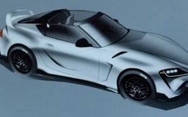 Lộ diện Toyota GR Supra Sport Top Edition mui trần nhưng cách mở mui... chưa được quyết định