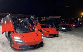 Dàn siêu xe bạc tỷ của Evo Team tụ họp, gây chú ý tại Sài Gòn với nhiều điểm độc đáo