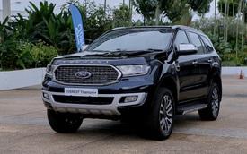 Ra mắt Ford Everest 2021: Nhiều chi tiết hot được tiêu chuẩn hoá, đe nẹt Toyota Fortuner