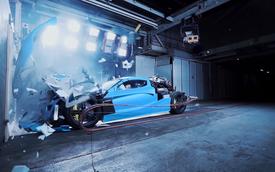 Những siêu xe triệu USD thử va chạm be bét xong đi đâu về đâu?