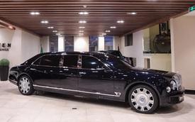 Đại lí chào hàng Bentley Mulsanne bản cực hiếm cho đại gia Việt: Giá cả chục tỷ đồng, dài rộng chưa từng thấy