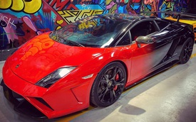 """Lamborghini Gallardo LP560-4 độ bodykit Squadra Corse độc nhất Việt Nam lột xác với ngoại thất bắt """"trend"""""""