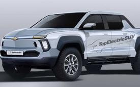 Chevrolet lộ bán tải hoàn toàn mới, cạnh tranh Ford F-150 và Tesla Cybertruck
