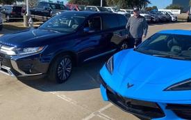 Chủ Corvette đời mới gây bão vì đổi xe lấy Mitsubishi Outlander