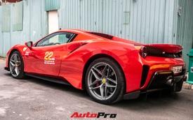 Khám phá Ferrari 488 Pista Spider của đại gia Hoàng Kim Khánh: Nhiều chi tiết như xe đua