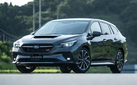 Subaru Levorg từng bán tại Việt Nam bất ngờ vượt mặt hàng loạt xe 'hot', giật giải lớn