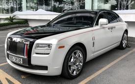 Rolls-Royce Ghost của Minh 'nhựa' đổi màu độc đáo, phong cách hai tông màu mới là điểm nhấn