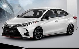 Lộ diện Toyota Vios 2021 phiên bản thể thao với thiết kế đầu xe hầm hố