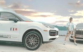 Vừa tậu 3 chiếc BMW có giá hơn 12 tỷ, Minh 'nhựa' đăng ảnh chụp sang chảnh bên cạnh Porsche Cayenne Coupe mới coóng