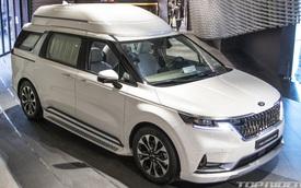 Chi tiết Kia Sedona High Limousine 2021 ngoài đời thực: Sang như xe Đức, giá quy đổi hơn 1,2 tỷ đồng khiến người Việt phát thèm