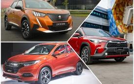 Hơn 800 triệu, mua Peugeot 2008, Toyota Corolla Cross hay Honda HR-V: Đây là bảng so sánh giúp bạn tìm ra câu trả lời
