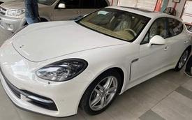 Mua Porsche Panamera 8 năm nhưng 'quên' không chạy, đại gia Việt bán xe ODO 200km với giá chỉ 2,9 tỷ đồng