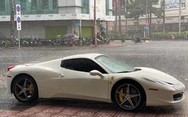 Ferrari 458 Spider màu trắng từng của doanh nhân Hải Phòng tiếp tục được đẩy tới đại lý xe sang cũ số 1 Sài Gòn