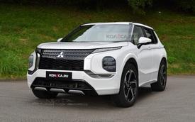 Xem trước thiết kế rõ nét của Mitsubishi Outlander thế hệ mới: Quá nhiều thay đổi để cạnh tranh Hyundai Santa Fe và Kia Sorento