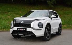 Những điều cần biết về Mitsubishi Outlander thế hệ mới - Honda CR-V phải dè chừng