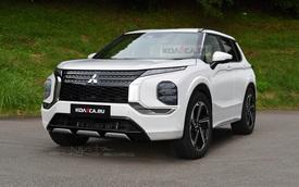 Sếp đại lý bật mí Mitsubishi Outlander 2022 có chất lượng đạt đẳng cấp mới nhờ mượn khung gầm Nissan X-Trail
