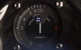 Pagani hé lộ siêu phẩm mới với đồng hồ đo tốc độ như máy bay