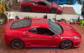 Sau 2 ngày được thanh lý, Ferrari F430 Scuderia từng của doanh nhân Hải Phòng đã tới Sài Gòn, tình trạng xe gây ngạc nhiên