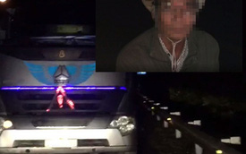 Lại xuất hiện tài xế xe tải đi ngược chiều trêncao tốc Nội Bài – Lào Caitrong đêm