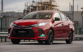 Ra mắt Toyota Vios 2021 phiên bản thể thao: Đẹp mắt, dần dần thoát mác 'xe taxi'