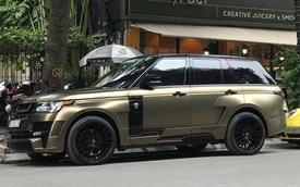 Range Rover độ Hamann cực hiếm của đại gia Hà Thành có màu sơn 'chẳng giống ai'