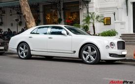Chán màu sơn nguyên bản, đại gia Hà Thành đổi màu ngoại thất của Bentley Mulsanne để trở nên độc đáo hơn