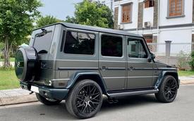 Kỳ công nâng cấp từ trong ra ngoài, hàng 'khủng' Mercedes-Benz G 55 AMG cũ bán lại chỉ 3,7 tỷ đồng