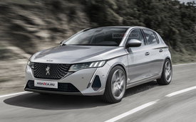 Xem trước thiết kế Peugeot 308 2021: Xe thể thao dự kiến mạnh 300 mã lực cạnh tranh Honda Civic Type R