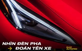[Quiz] Bạn đoán được đúng bao nhiêu tên xe nếu chỉ nhìn đèn chiếu sáng?