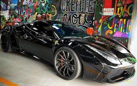 Doanh nhân kinh doanh online tậu Ferrari 488 GTB độ Liberty Walk độc nhất Việt Nam