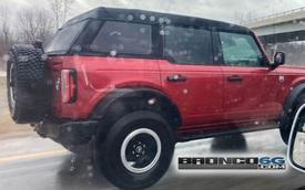 Ford Bronco mui mềm lộ diện lần đầu tiên