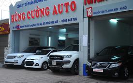 Sôi động thị trường ô tô cũ dịp cuối năm