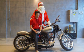 Doanh nhân Nguyễn Quốc Cường được bà xã tặng Harley-Davidson Breakout 114 giá chính hãng gần 800 triệu đồng