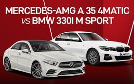 Có 2,5 tỷ đồng mua xe thể thao, chọn Mercedes-AMG A 35 4Matic hay BMW 330i M Sport?