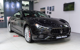 Đại gia Vũng Tàu chi hơn 6,5 tỷ đồng mua Maserati Ghibli Ribelle độc nhất Việt Nam tặng vợ