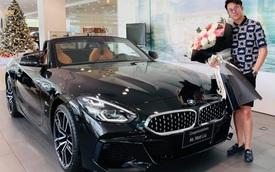 CEO Matt Liu sắm BMW Z4 giá hơn 3 tỷ đồng, không quên 'thả thính' hoa hậu Hương Giang