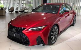 Lexus IS mới sắp ra mắt Việt Nam: 3 phiên bản, giá khó thấp hơn 2 tỷ đồng, đối thủ Mercedes C-Class và BMW 3-Series