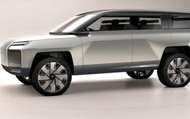 Xem trước Volvo XC100 sắp ra mắt: SUV siêu sang như con lai giữa Defender và Tesla Cybertruck