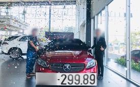 'Mua' biển 299.89 hết 400 triệu, chủ xe 'đau xót' rao bán Mercedes-Benz C 300 AMG giá 2 tỷ, ODO chỉ 9.000km