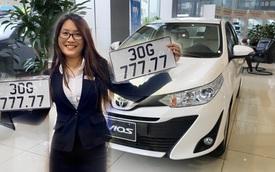 Chủ Toyota Vios tại Hà Nội bốc được biển ngũ quý 7, dân tình thi nhau luận biển, đoán giá bán lại hàng tỷ đồng