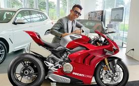 Vừa sắm dàn xe khủng trị giá hàng chục tỷ cuối năm, Minh 'nhựa' chốt thêm chiếc Ducati Panigale V4 R giá khoảng 2 tỷ đồng