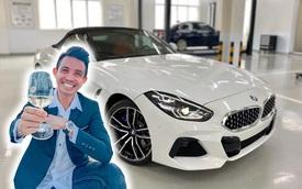 Doanh nhân Phạm Trần Nhật Minh đăng hình cùng BMW Z4 gây xôn xao: Tân binh mới gia nhập bộ sưu siêu xe, xe sang trăm tỷ?