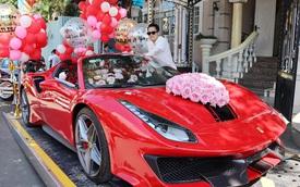 Không phải 'siêu phẩm' Ferrari SF90 Stradale như đồn đoán, đây mới chính xác là chiếc xe doanh nhân Hoàng Kim Khánh tặng vợ