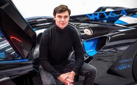27 tuổi bạn có gì, anh chàng này vừa trở thành Giám đốc thiết kế siêu xe đặc biệt của Bugatti sau hàng loạt siêu phẩm, trong đó có mẫu đắt nhất thế giới